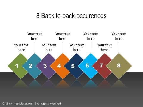 PowerPoint Linear Timeline 17