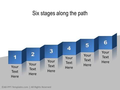 PowerPoint Linear Timeline 19