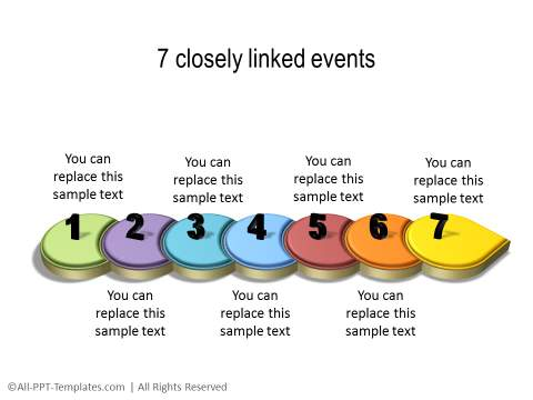 PowerPoint Linear Timeline 21