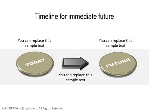 PowerPoint Linear Timeline 23