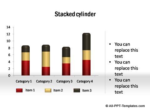 PowerPoint column chart 02