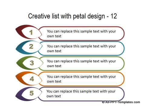 PowerPoint Creative List 33