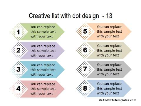 PowerPoint Creative List 34