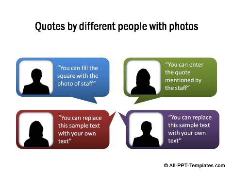 Quotes by different people