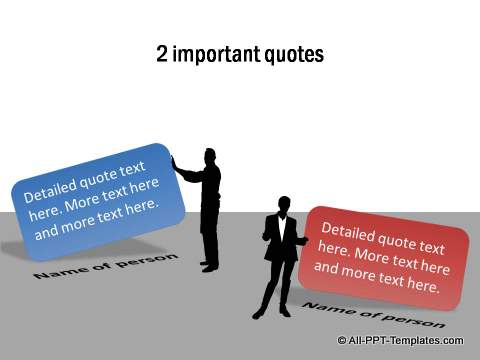 2 Important quotes