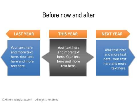 PowerPoint Linear Timeline 24