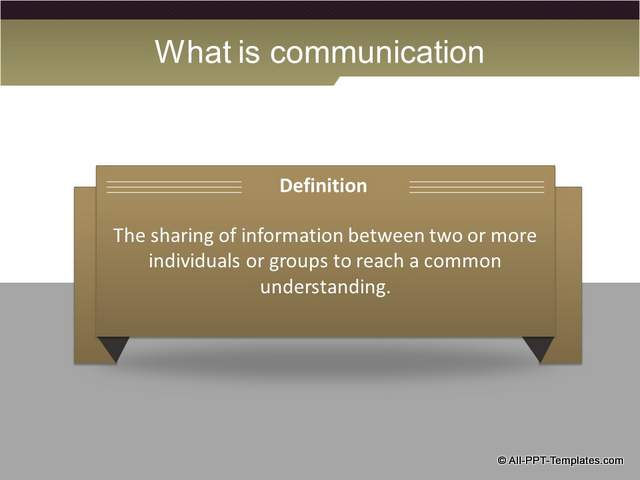 PowerPoint Training Definition Slide : After