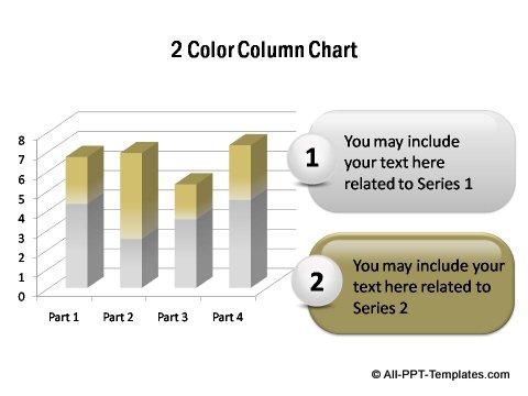 PowerPoint column chart 03