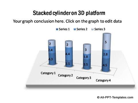 PowerPoint column chart 05