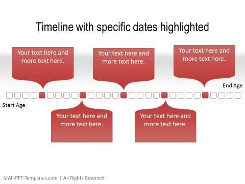PowerPoint Linear Timeline 07