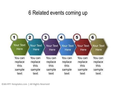 PowerPoint Linear Timeline 16