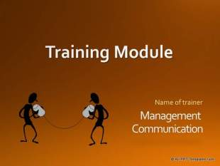 PowerPoint Training Title Slide : Before