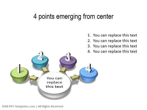PowerPoint Circular List 07