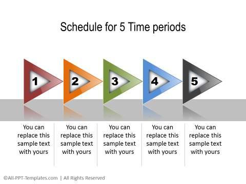 PowerPoint Linear Timeline 11