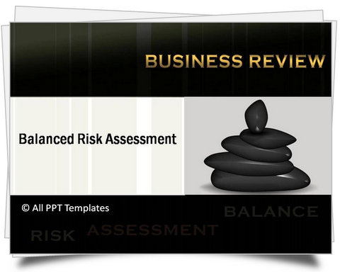 PowerPoint Balanced Risk Assessment Template