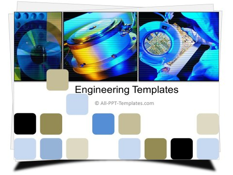 Manufacturing Machinery Template