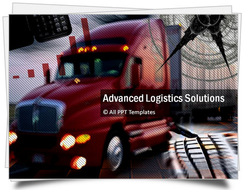 PowerPoint Advanced Logistics Template