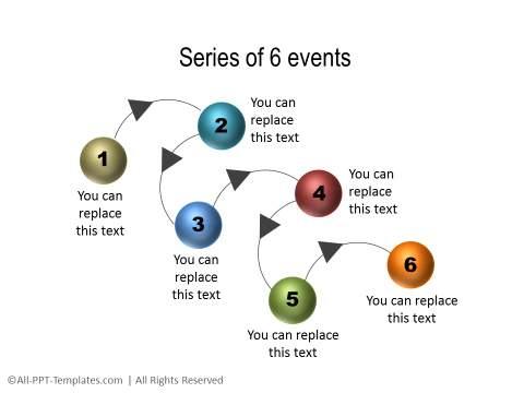 PowerPoint Linear Timeline 04