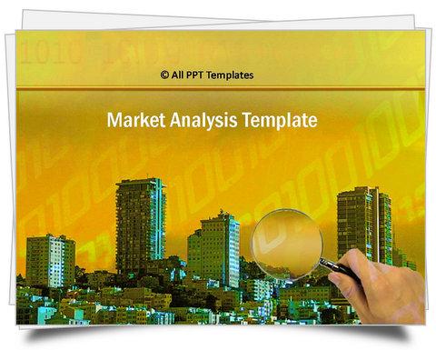 PowerPoint Market Analysis Template
