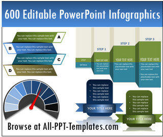 600 Editable PowerPoint Infographics
