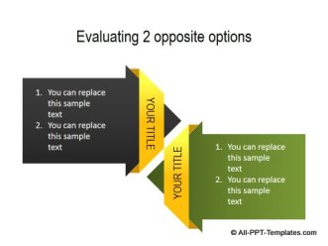 PowerPoint Comparison Directions