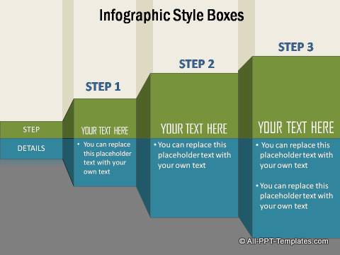 Stepwise Information Graphics