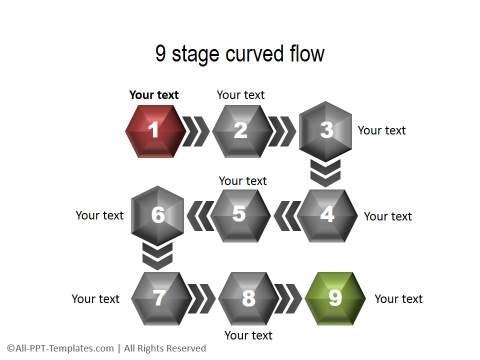 3D PowerPoint Process 18