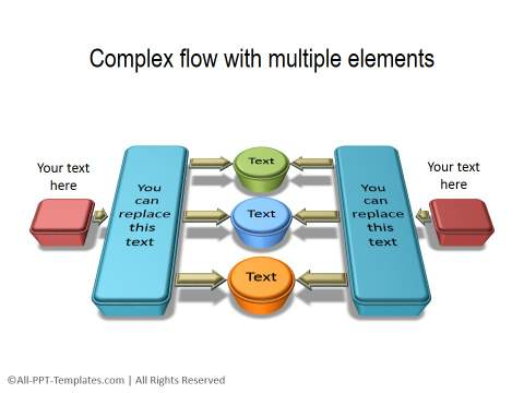 process flow diagram 3d wiring diagram3d powerpoint process templates for subscribers page 2complex flow diagram 3d powerpoint process 19