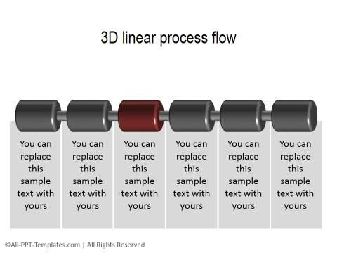 3D PowerPoint Process 30