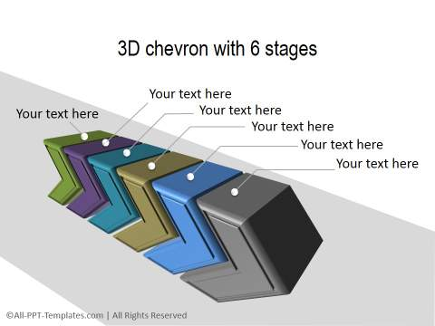 3D PowerPoint Process 32