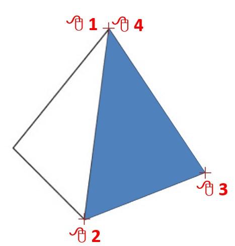 Tracing a Pyramid