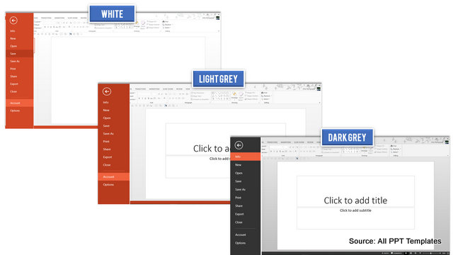 PowerPoint 2013 Office Theme