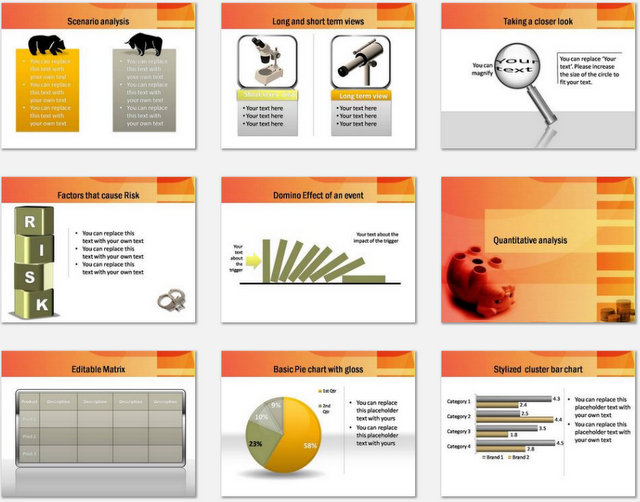 PowerPoint Accounting Audit Charts 2