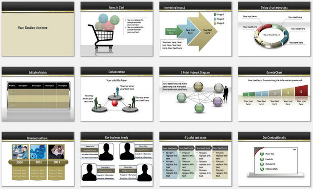 PowerPoint Ebook Marketing Charts 2
