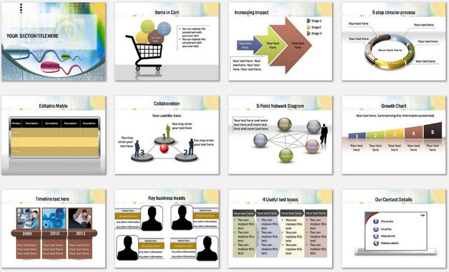 PowerPoint Software Code Charts 2
