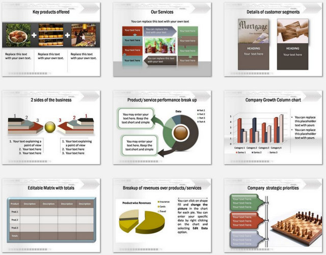 PowerPoint Technical Business Intro  Charts 2