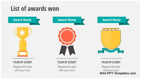 Awards Slide