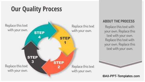 Circular Process Slide