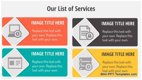 List of services Slide