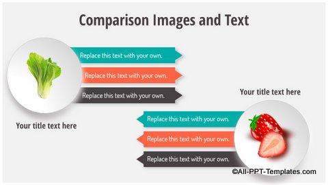 Image comparison slide