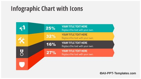 Infographics with Icons Slide
