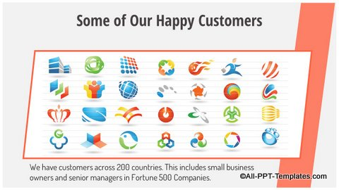 Customer Logos Slide