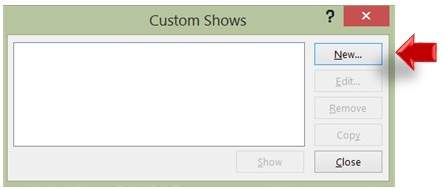 Add New Slideshow