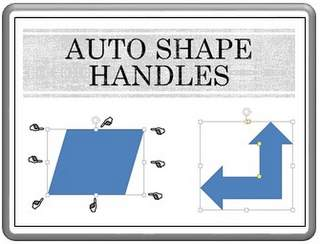 Handles in Auto Shapes