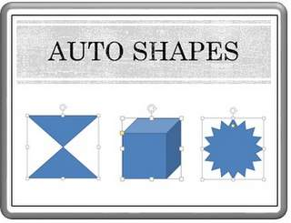 Creating Auto Shapes