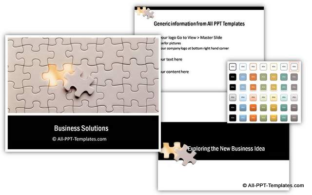 Puzzle Business Plan Theme
