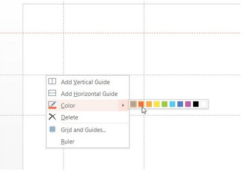 Change Color of Static Guides