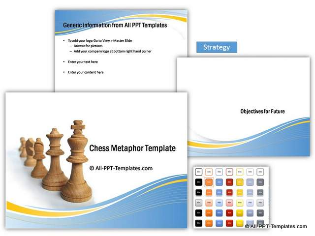 Chess Strategy PowerPoint Theme