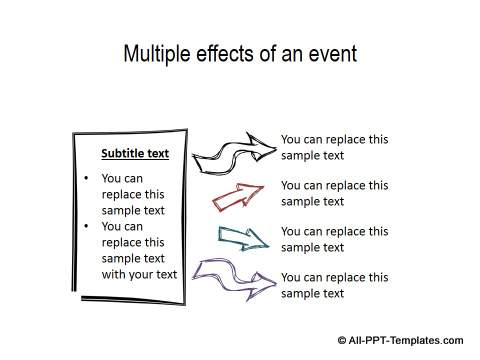 Creative PowerPoint Cause Effect 12