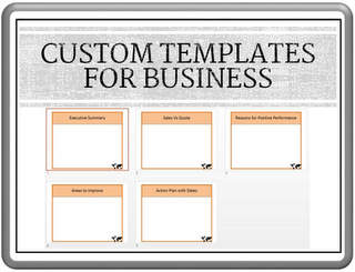 Custom PowerPoint Templates